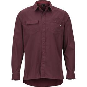 Marmot Kapalino Miehet Pitkähihainen paita , punainen